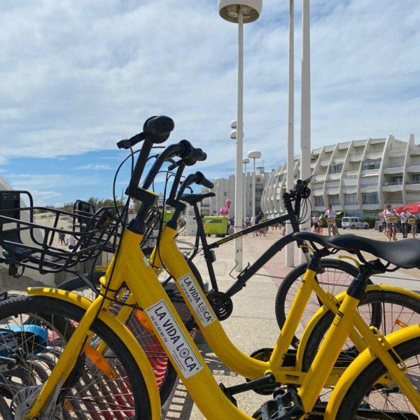 Vélos plage du Couchant