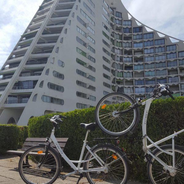 Vélos pyramides La Grande Motte